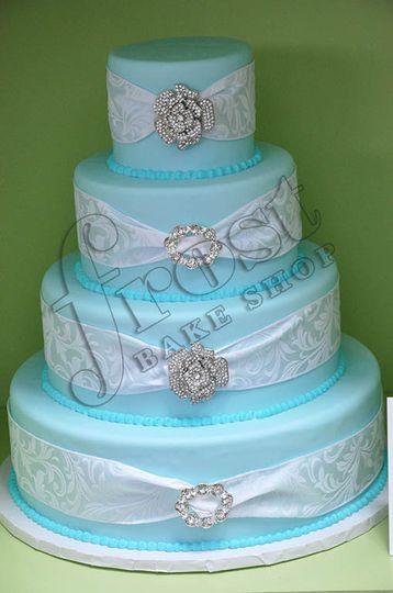 Wedding Cakes Memphis  Frost Bake Shop Wedding Cake Collierville TN