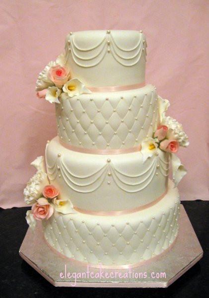 Wedding Cakes Mesa Az  PinkandWhiteWedding Mesa wedding cake