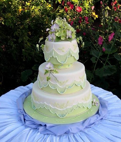 Wedding Cakes Mesa Az  Elegant Cake Creations Wedding Cake Mesa AZ WeddingWire