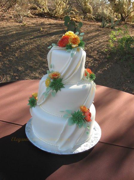 Wedding Cakes Mesa Az  Elegant Cake Creations Mesa AZ Wedding Cake