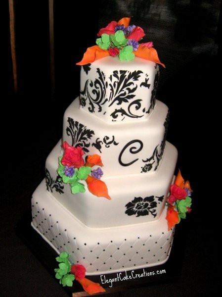 Wedding Cakes Mesa Az  Hexagonwedding Mesa wedding cake
