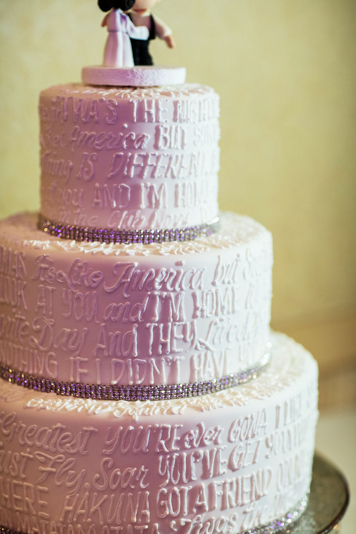 Wedding Cakes Messages  Wedding Cake Wednesday Disney Movie Quotes