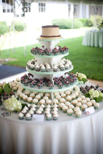 Wedding Cakes Milwaukee  Milwaukee Cupcake pany Wedding Cake Milwaukee WI