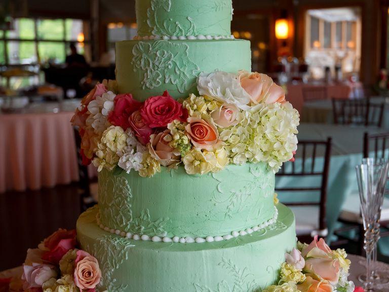 Wedding Cakes Mobile Al  Alabama Weddings