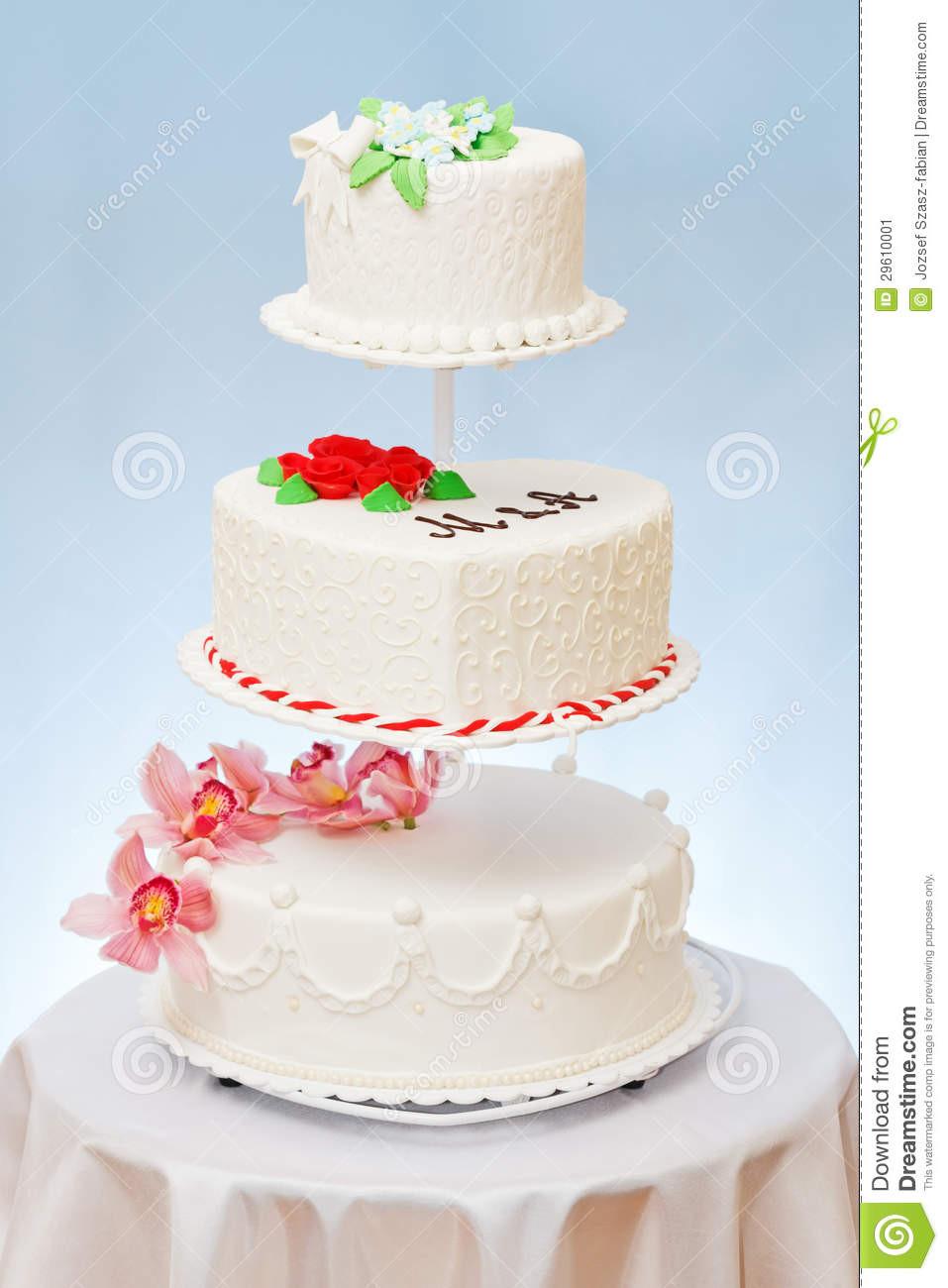 Wedding Cakes Models  Wedding Cakes Models Stock Image Image