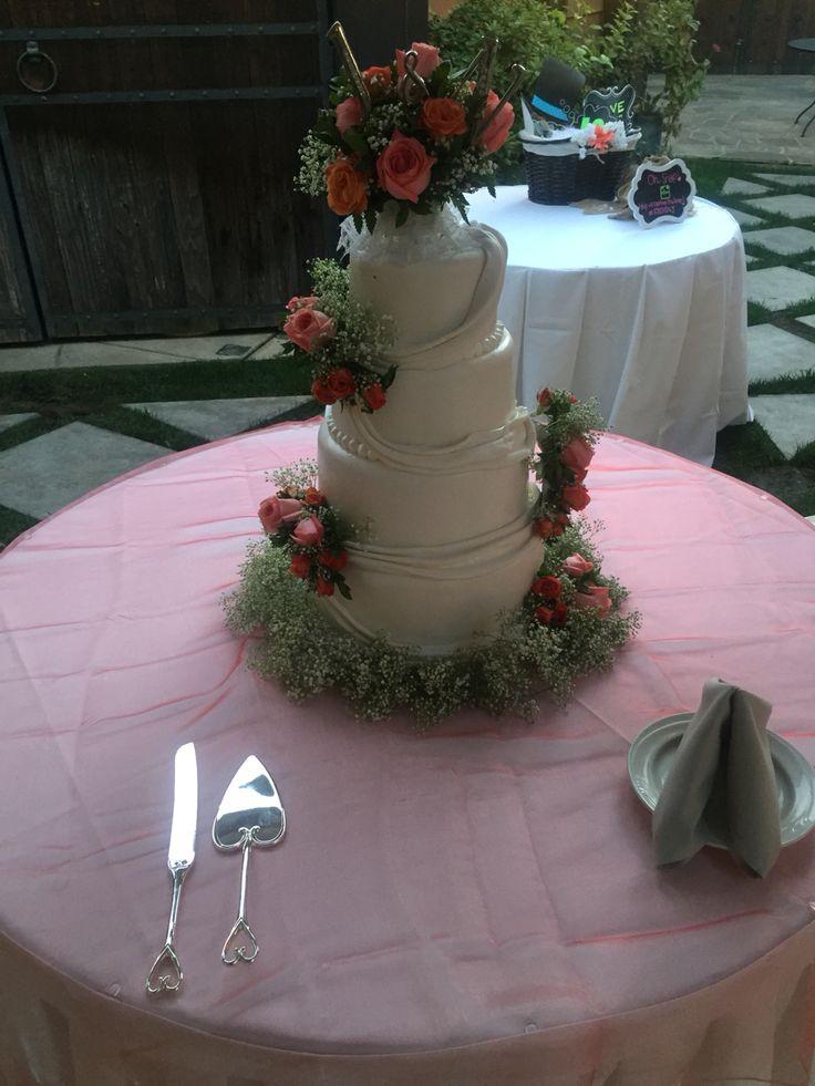 Wedding Cakes Modesto Ca  79 best Weddings at Vintage Gardens images on Pinterest