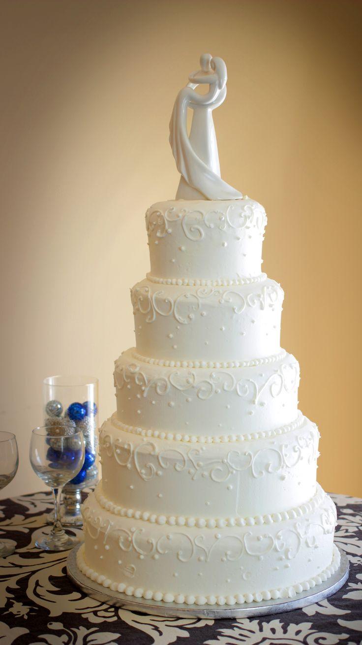 Wedding Cakes Mpls  Elegant 5 tier wedding cake Wedding Cakes