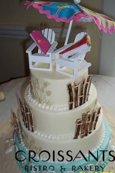 Wedding Cakes Myrtle Beach Sc  Croissants Bistro & Bakery Myrtle Beach SC Wedding Cake