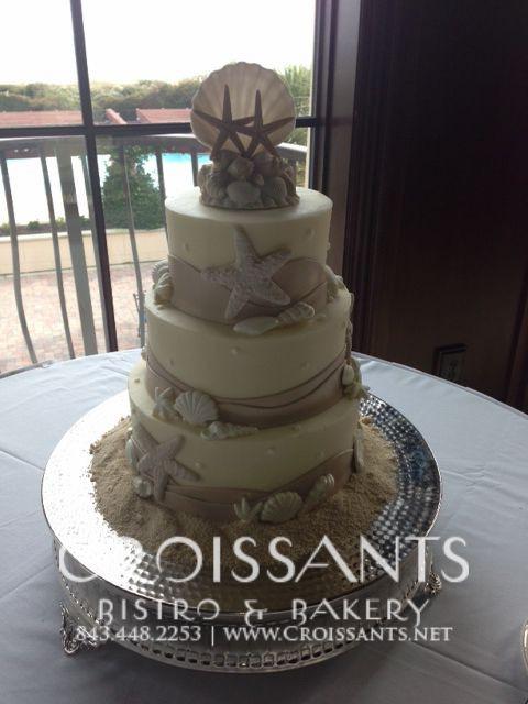 Wedding Cakes Myrtle Beach Sc  Beach Wedding Cake in Myrtle Beach SC