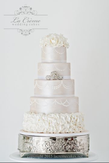 Wedding Cakes Nashville Tn  La Creme Wedding Cakes Wedding Cake Murfreesboro TN