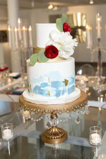 Wedding Cakes Nashville Tn  Katelin Hayes Desserts Wedding Cake Nashville TN