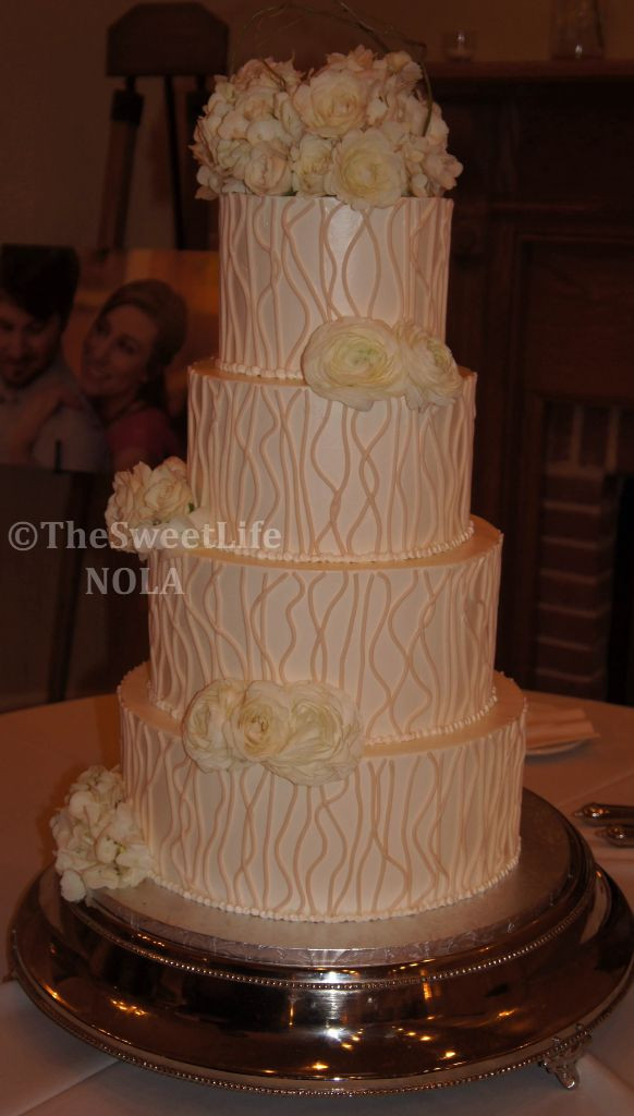 Wedding Cakes New Orleans  17 Best images about Custom Wedding Cakes by The Sweet