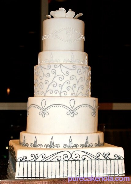 Wedding Cakes New Orleans  wedding cake gallery