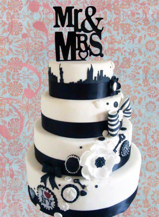 Wedding Cakes New York  New York Wedding Cake Cake by Mel Pearson Jury CakesDecor