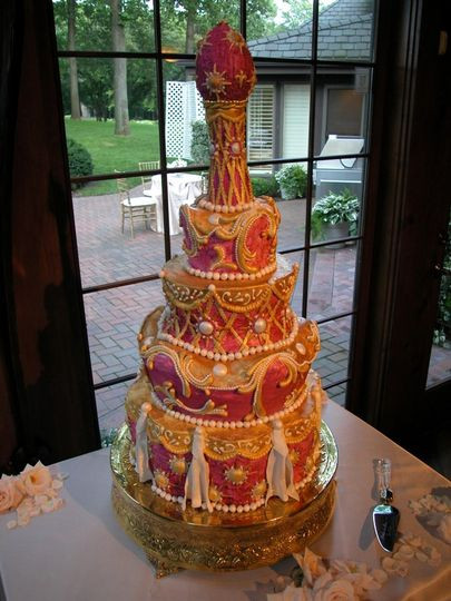Wedding Cakes Northern Ky  IncrEdible Endings Wedding Cake Florence KY WeddingWire