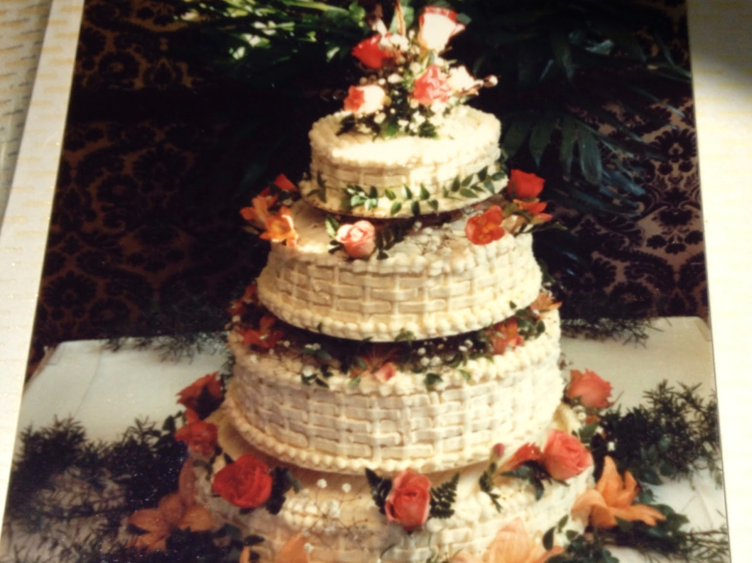 Wedding Cakes Northern Va  Wedding Cakes with Teatime Catering in Northern Virginia