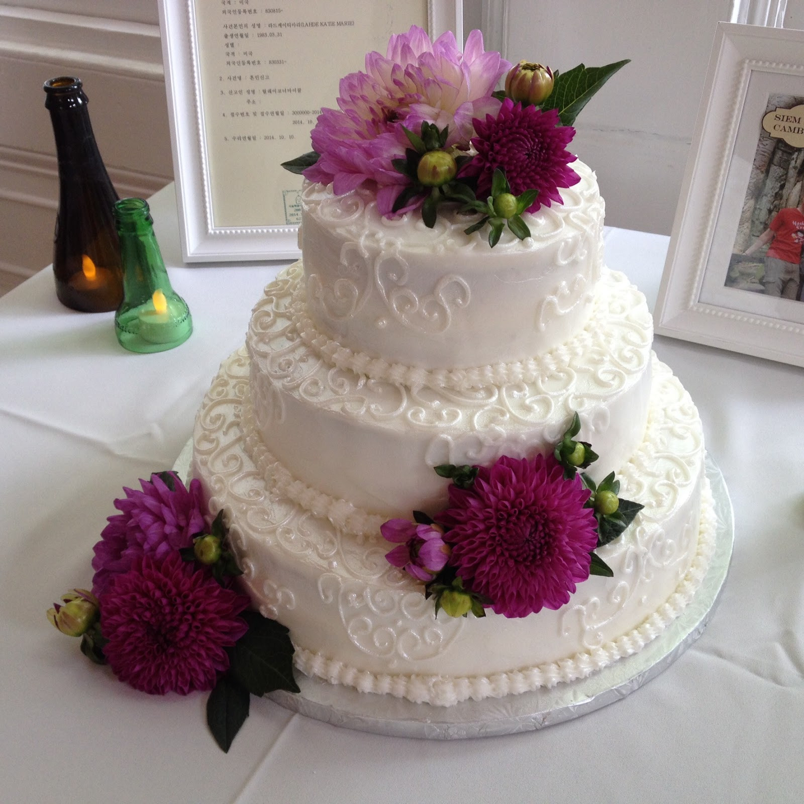 Wedding Cakes Northern Va  Ten Best Wedding Cakes of 2015 Catering By Teatime