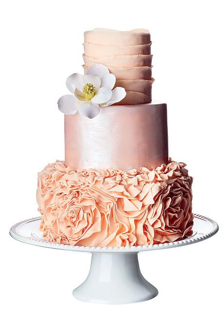 Wedding Cakes Nyc  Wedding Cakes NYC Brides Magazine Shoot