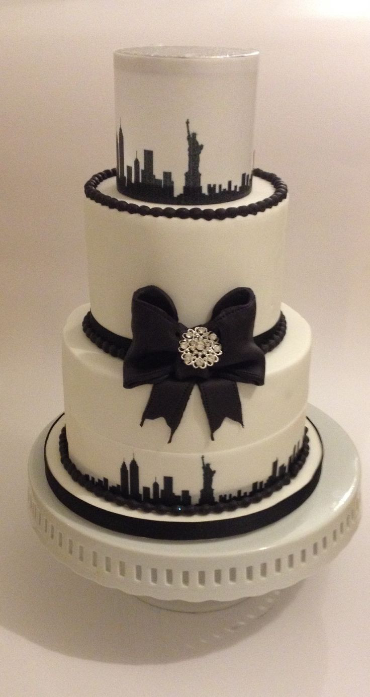 Wedding Cakes Nyc  358 best City Cakes images on Pinterest