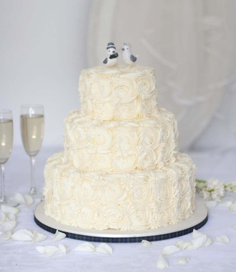 Wedding Cakes On Line  Buy online Wedding Cake Buttercream Wedding Cake