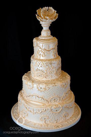 Wedding Cakes Ontario California  Tasteful Cakes Inc Wedding Cake Corona CA WeddingWire