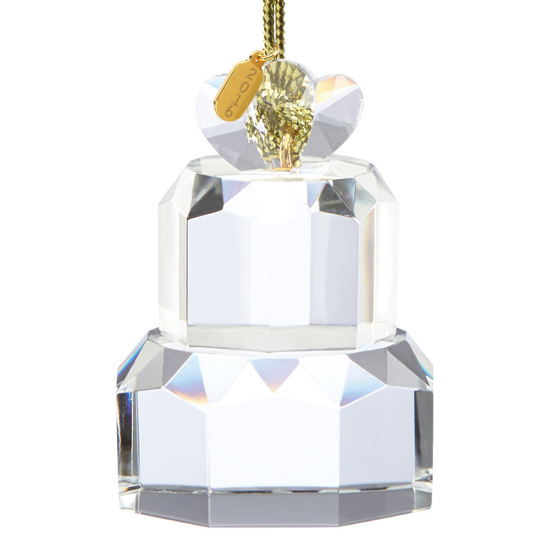 Wedding Cakes Ornaments  Our First Christmas Ornament 2016 Wedding Cake