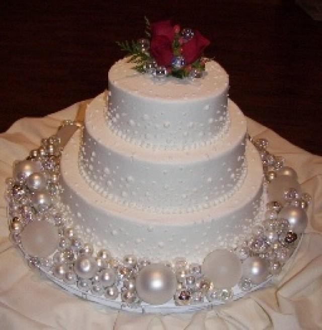 Wedding Cakes Ornaments  Christmas Wedding Gifts Christmas Ball Ornaments