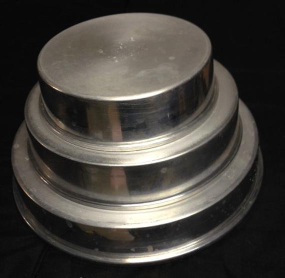 Wedding Cakes Pans  Wedding Cake Pans 3 Tier Cake Pans Mirro by RusticBuckets