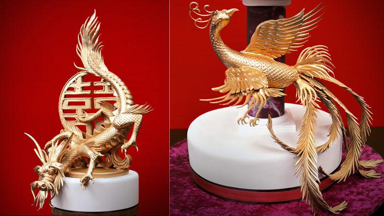 Wedding Cakes Phoenix  Dragon and Phoenix Cake Yeners Way