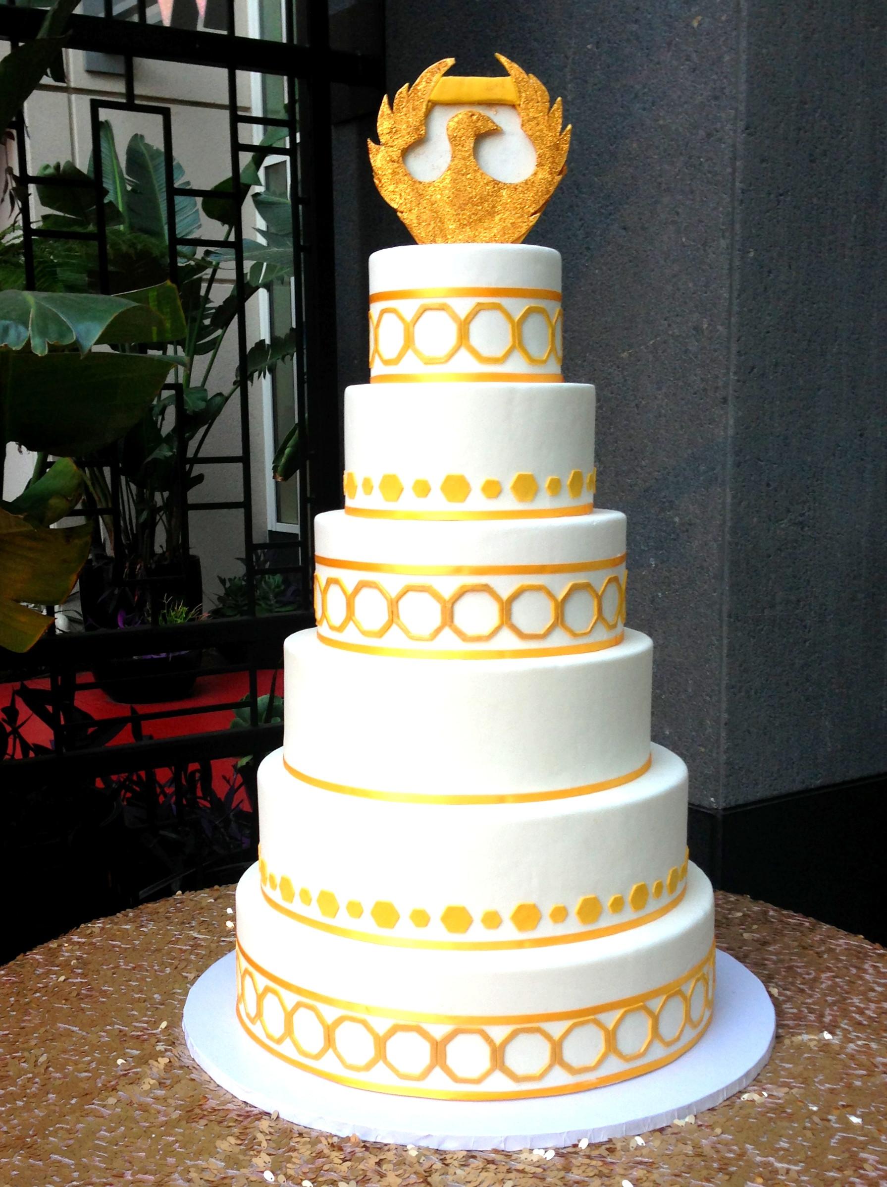 Wedding Cakes Phoenix  Rosette Cakes