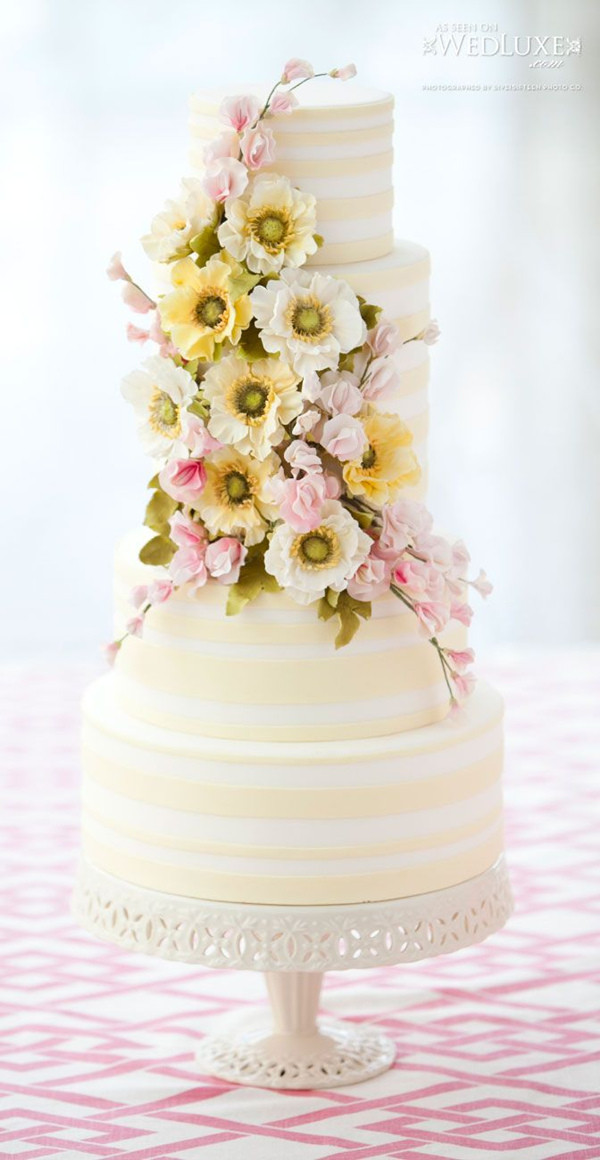 Wedding Cakes Pictures 2016  18 Pastel Wedding Cake Ideas For 2016 Spring
