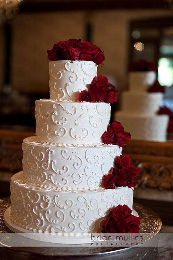 Wedding Cakes Pictures Pinterest  25 Best Elegant Wedding Cakes Ideas Pinterest Elegant