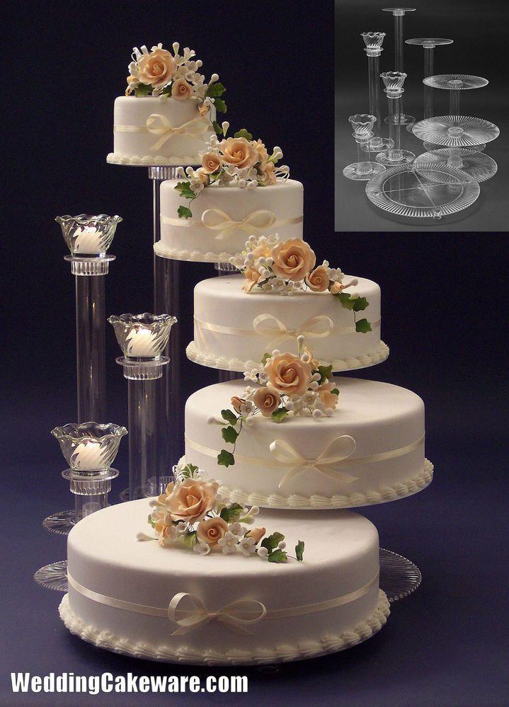 Wedding Cakes Pictures Pinterest  Best 25 5 tier wedding cakes ideas on Pinterest