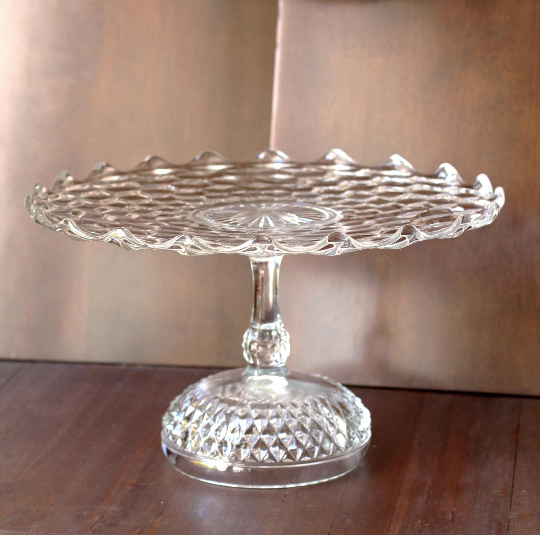 Wedding Cakes Plates  Wedding Cake Stand 14 Vintage Cake Pedestal Stand