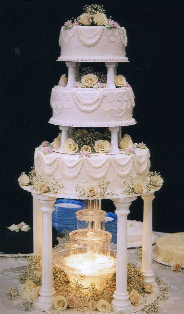 Wedding Cakes Prices And Pictures  Nice Walmart Wedding Cake Designs With Image Description