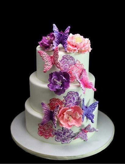 Wedding Cakes Queens Ny  Butterfly Bakeshop Wedding Cake New York New York