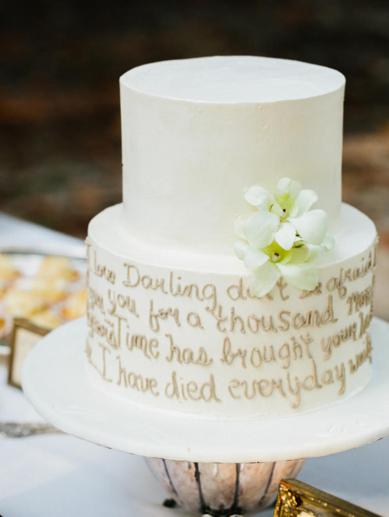 Wedding Cakes Quotes  10 Wedding Cakes That Almost Look Too Pretty To Eat