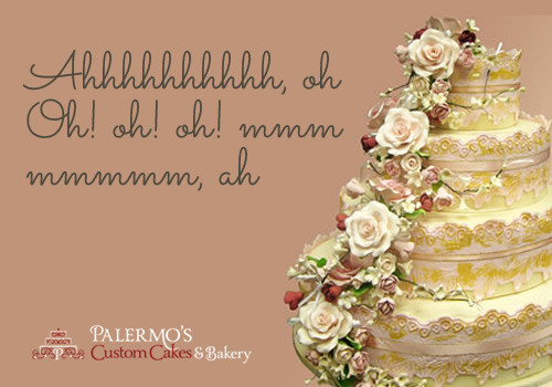 Wedding Cakes Quotes  What our customers have to say about our cakes • Palermo s