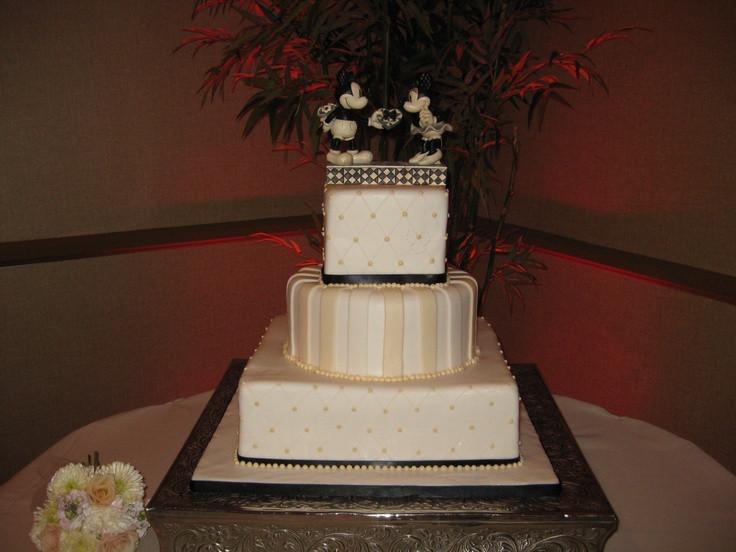 Wedding Cakes Rancho Cucamonga  Disney wedding cake Cake provided by Cucamonga Cakery in