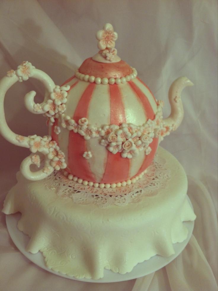 Wedding Cakes Rapid City Sd  201 best images about Tea Pot Cakes on Pinterest