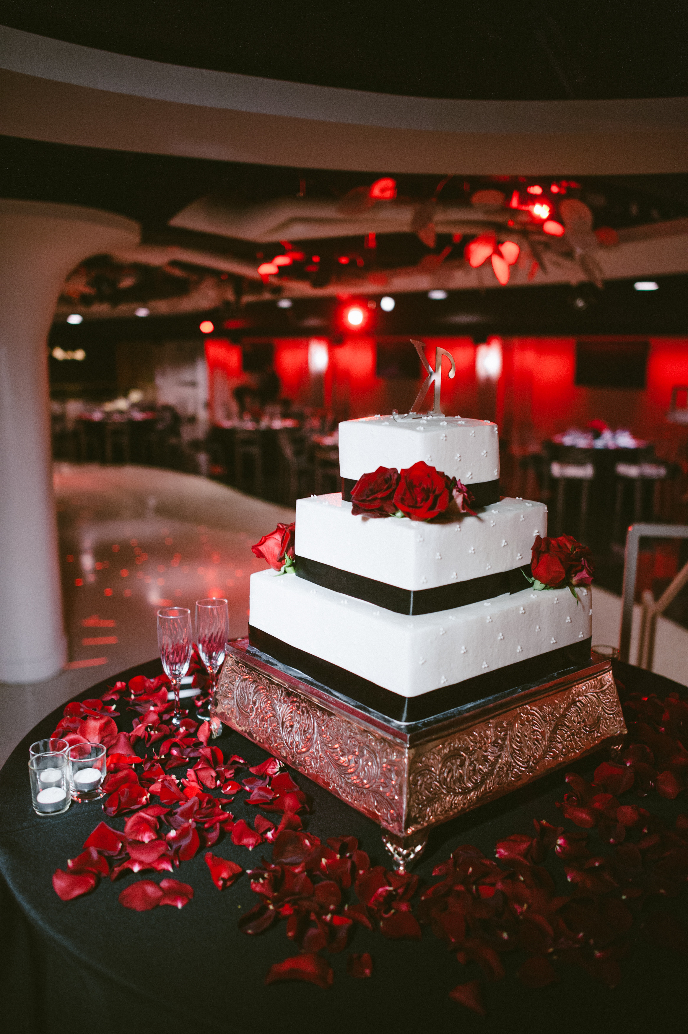 Wedding Cakes Red And Black  Black and Red Wedding Cakes