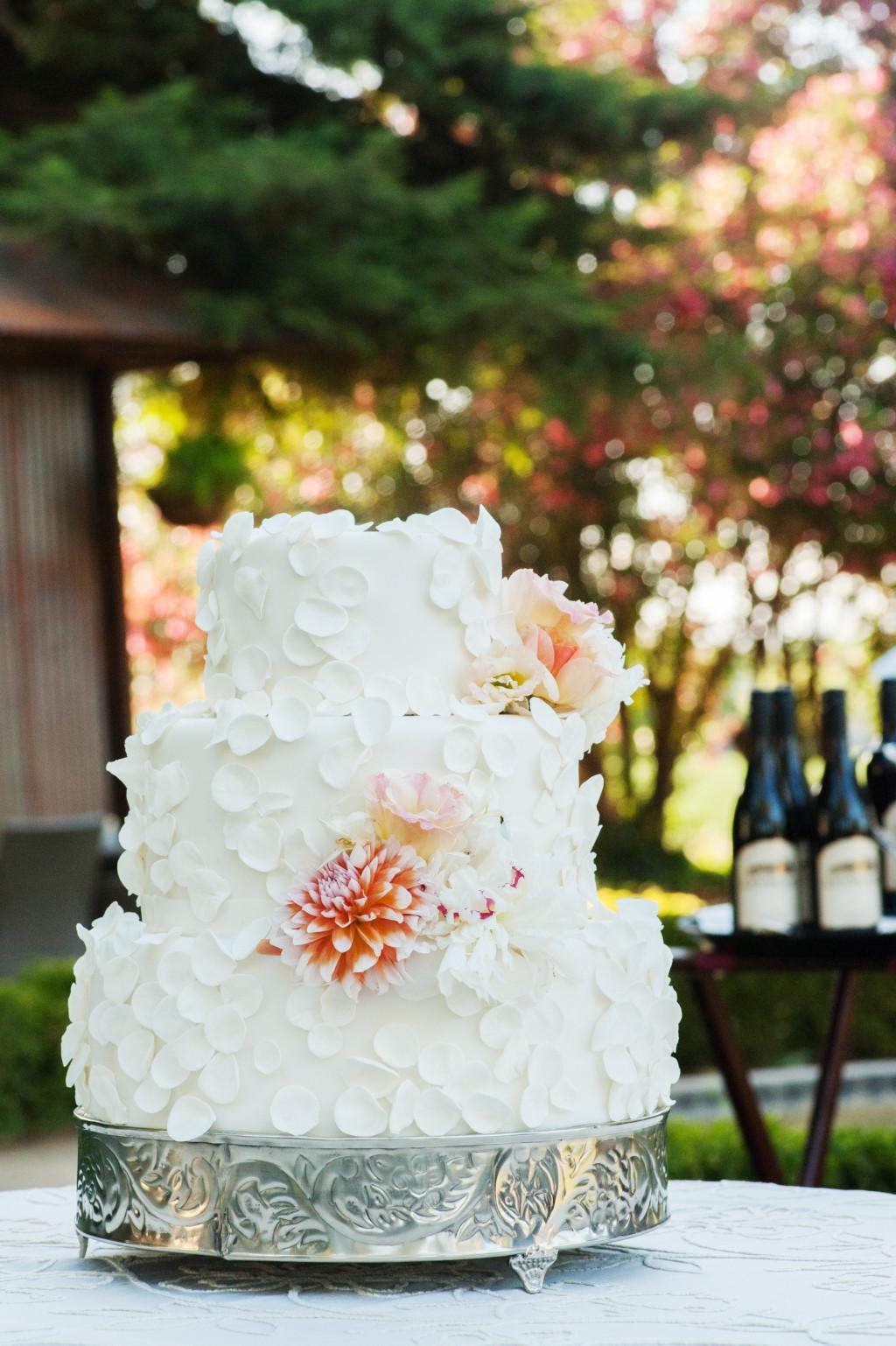 Wedding Cakes Redding Ca  Matt & Meghan
