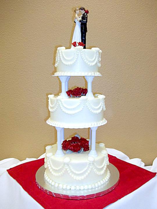 Wedding Cakes Redding Ca  Win A Wedding Cake Redding California Pink Box Bakery