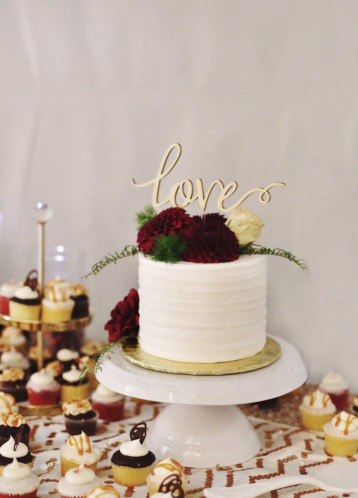 Wedding Cakes Redding Ca  Our wedding cake and mini cupcakes Yelp