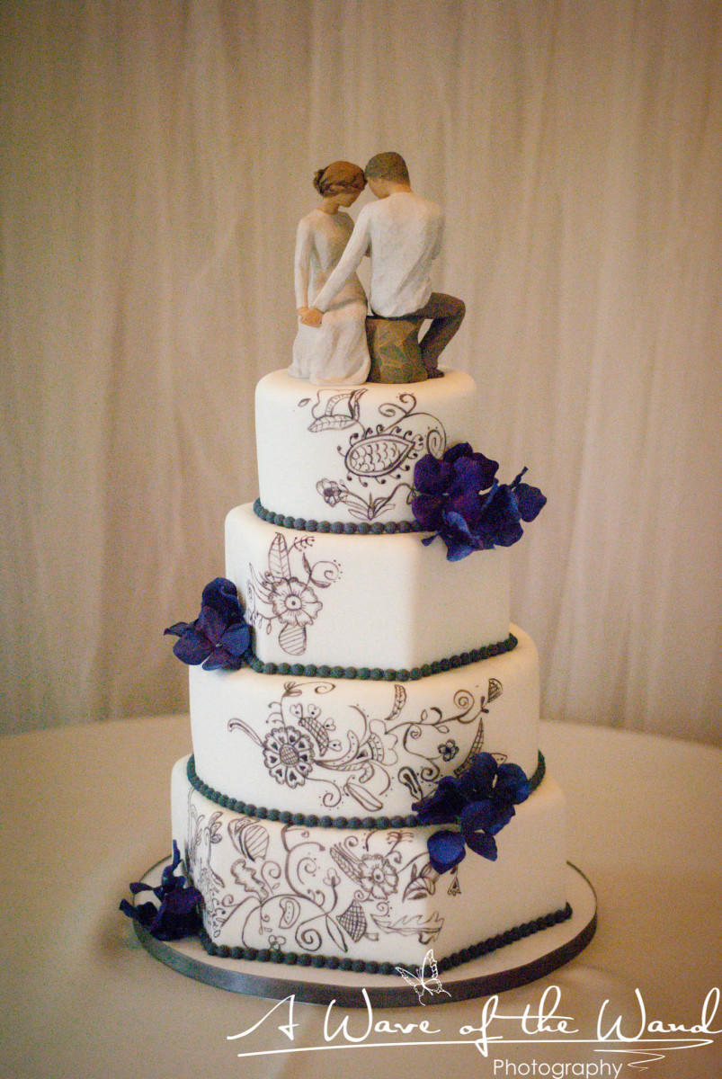 Wedding Cakes Reno  Lavender Ridge Wedding Reno NV BridalTweet Wedding