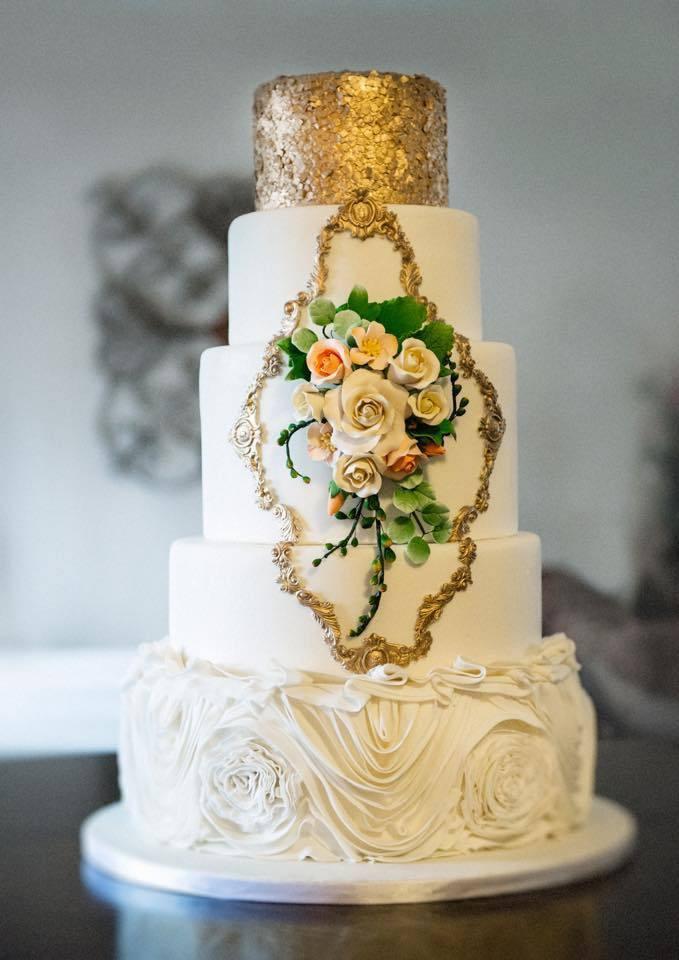Wedding Cakes Roanoke Va  Couture Cake Creations Wedding Cake Virginia Richmond