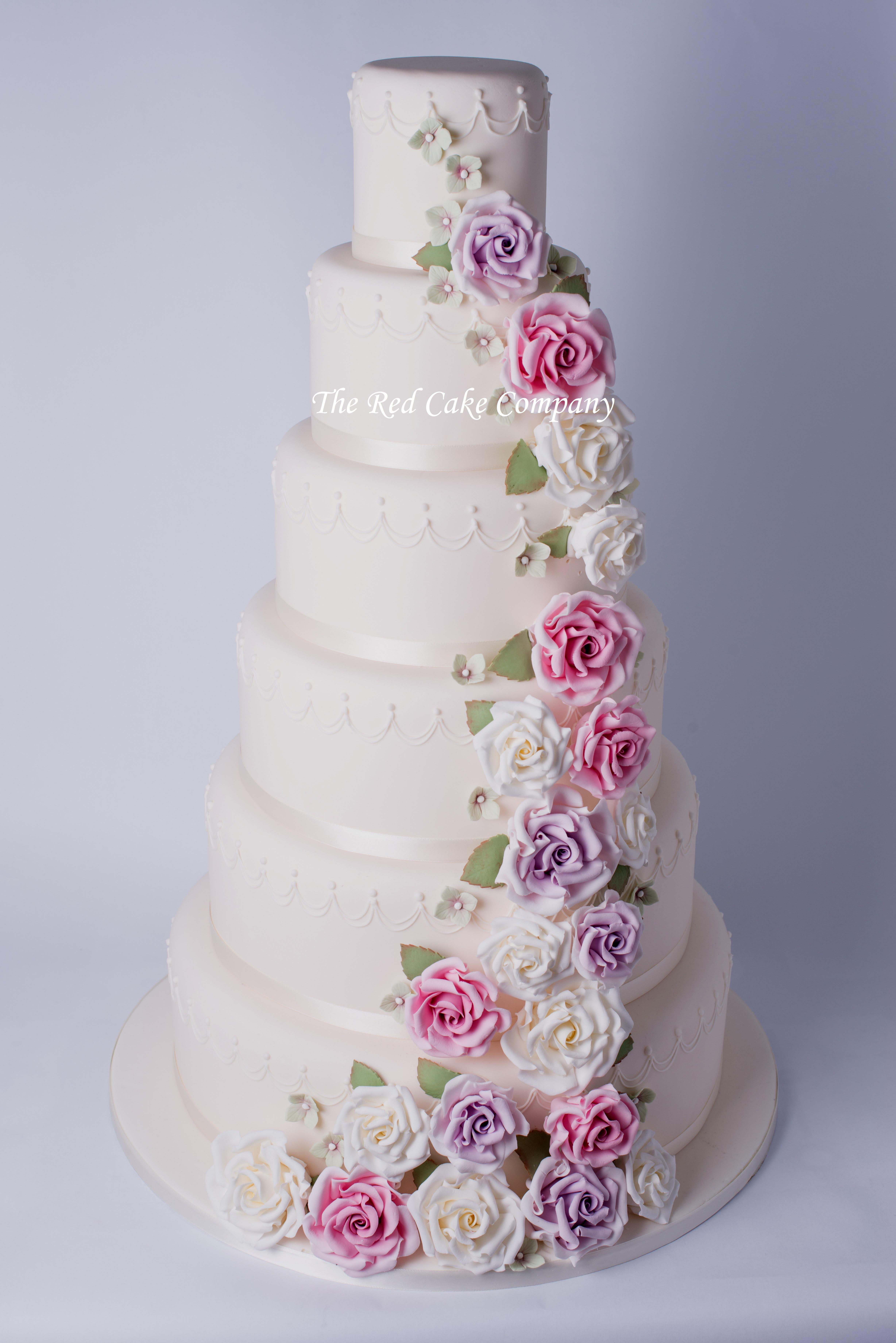 Wedding Cakes Rose  Wedding Cakes