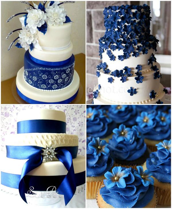 Wedding Cakes Royal Blue  Royal Blue Wedding Ideas And Wedding Invitations