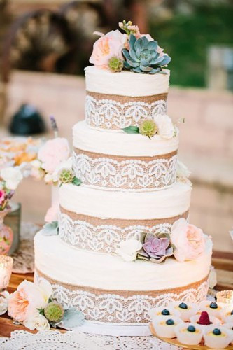 Wedding Cakes Rustic  20 Rustic Country Wedding Cakes for The Perfect Fall Wedding
