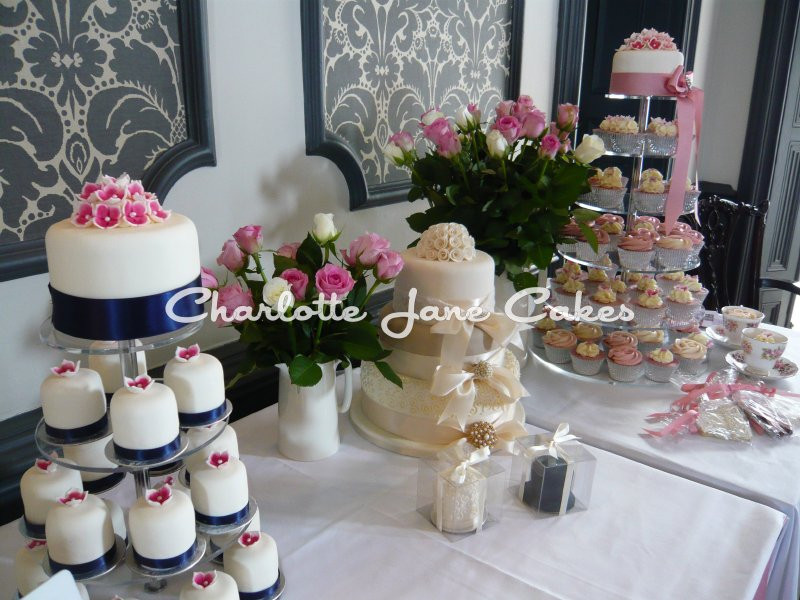 Wedding Cakes Samples  Sample Charlotte Jane Cakes at Somerset Wedding Fairs